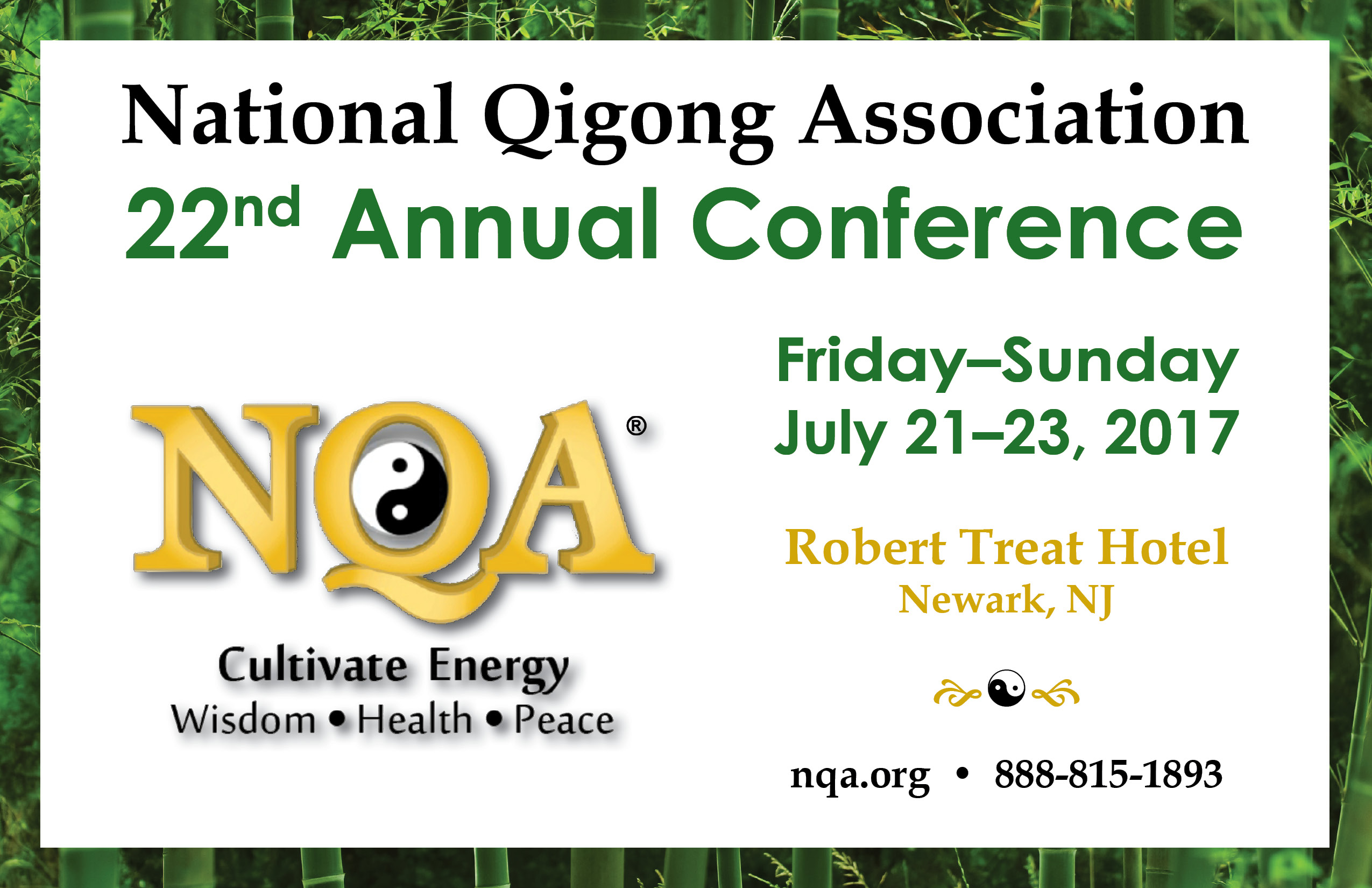 2017 National Qigong Association Conference